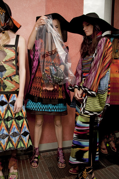 Missoni Spring 2011 - Backstage