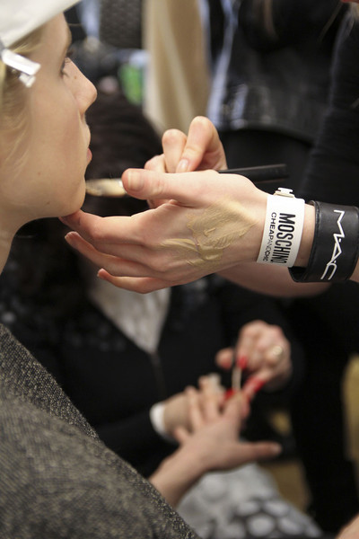 Moschino Cheap & Chic Fall 2012 - Backstage