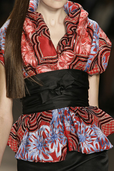Naeem Khan at New York Spring 2009 (Details)