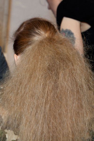 Nanette Lepore Fall 2012 - Backstage