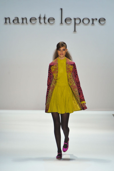Nanette Lepore at New York Fall 2012