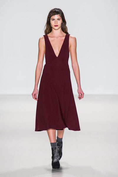Nanette Lepore at New York Fall 2014