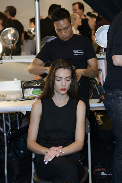 Nanette Lepore at New York Spring 2014 (Backstage)