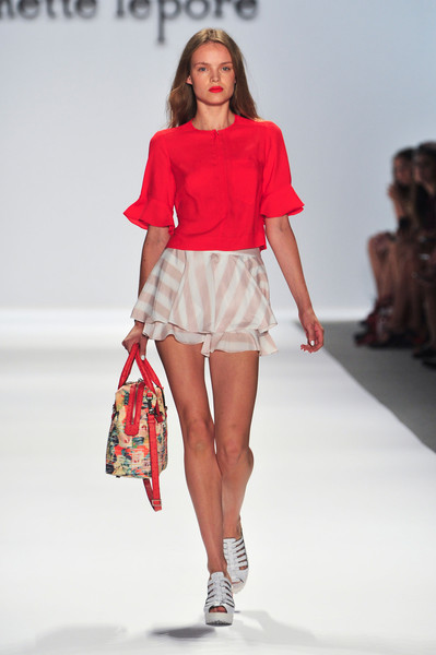 Nanette Lepore at New York Spring 2014