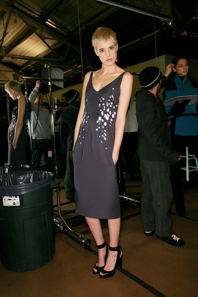 Narciso Rodriguez Fall 2007 - Backstage