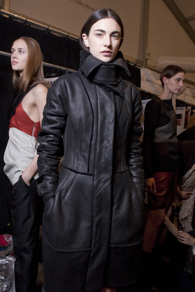 Narciso Rodriguez Fall 2010 - Backstage