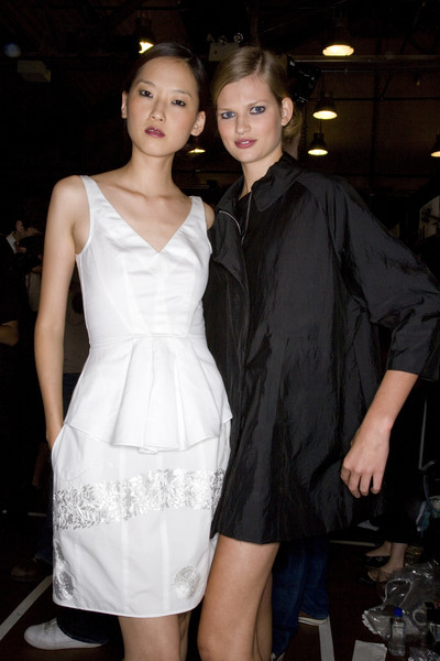 Narciso Rodriguez at New York Spring 2008 (Backstage)
