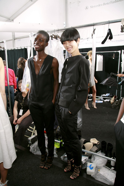 Narciso Rodriguez at New York Spring 2010 (Backstage)
