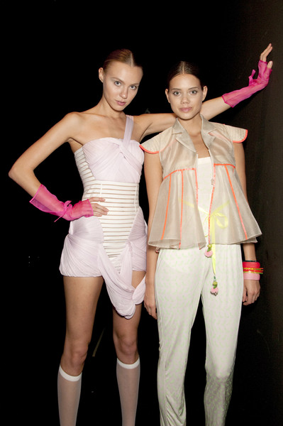 New Upcoming Designers Spring 2010 - Backstage