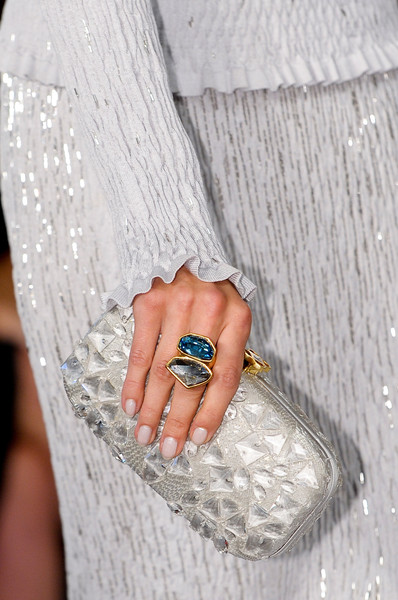 Best Spring 2013 Runway Nails - Oscar de la Renta
