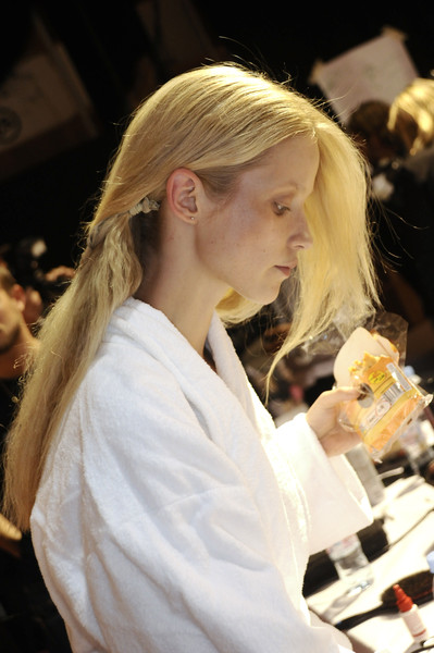 Ossie Clark at London Spring 2009 (Backstage)