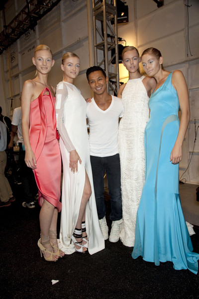 Prabal Gurung at New York Spring 2011 (Backstage)