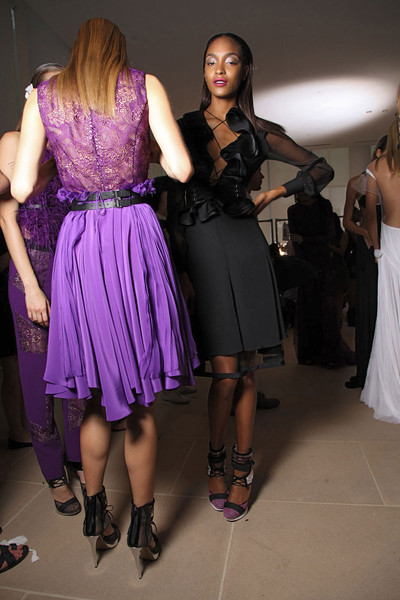 Prabal Gurung Spring 2012 - Backstage