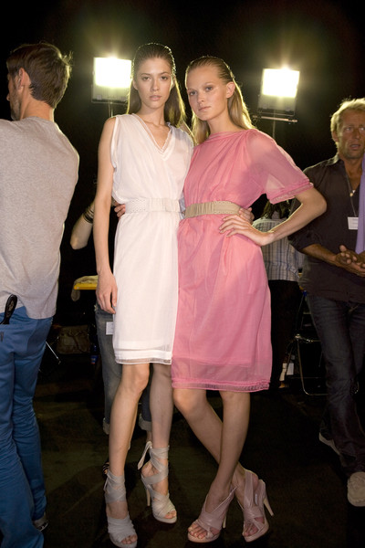 Pringle of Scotland Spring 2009 - Backstage