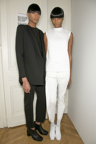 RAD by Rad Hourani Spring 2013 - Backstage