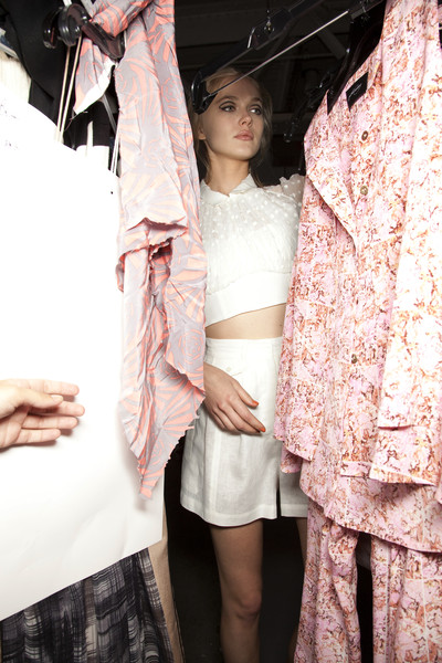 Rachel Comey at New York Spring 2011 (Backstage)