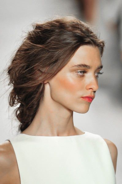 7 Best Hairstyles For Spring : At rachel zoe best spring runway hairstyles stylebistro