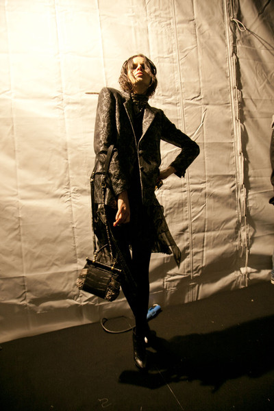 Roberto Cavalli Fall 2011 - Backstage