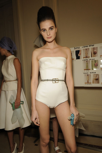 Rochas Spring 2012 - Backstage