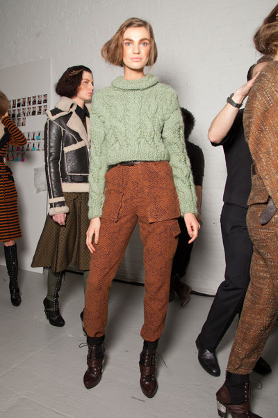 Rodarte Fall 2012 - Backstage