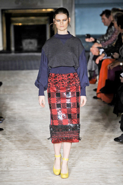 Roksanda Ilincic at London Fall 2012