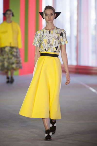 Roksanda Ilincic at London Spring 2014