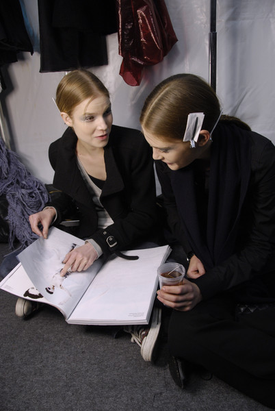 Rue du Mail Fall 2008 - Backstage