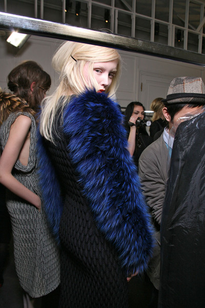 Rue du Mail Fall 2011 - Backstage