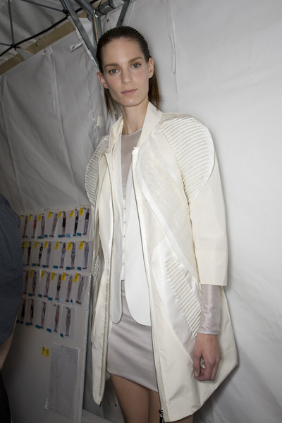 Rue du Mail Spring 2009 - Backstage