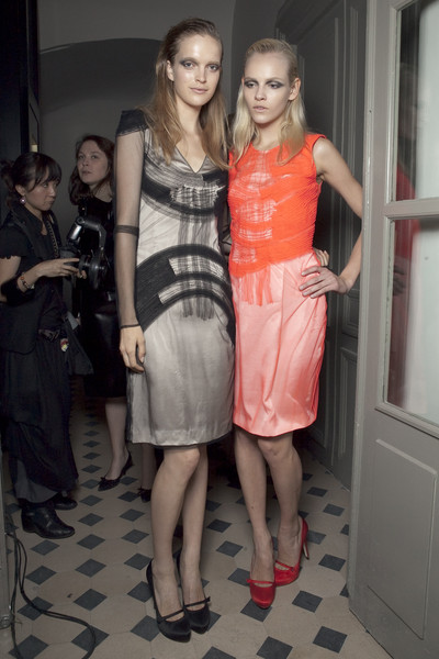 Rue du Mail Spring 2011 - Backstage