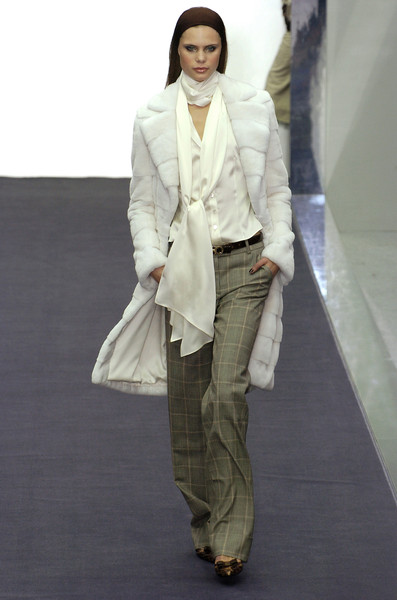 Salvatore Ferragamo at Milan Fall 2004