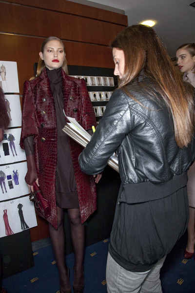 Salvatore Ferragamo Fall 2009 - Backstage