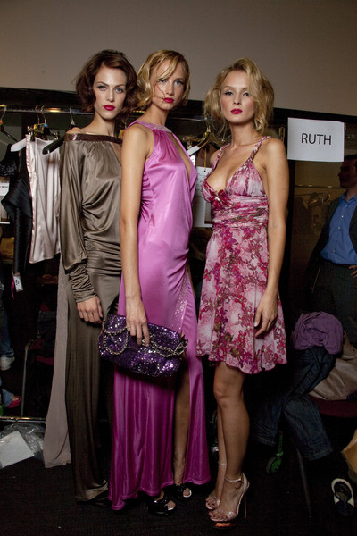 Seduzioni Diamonds Valeria Marini Spring 2010 - Backstage