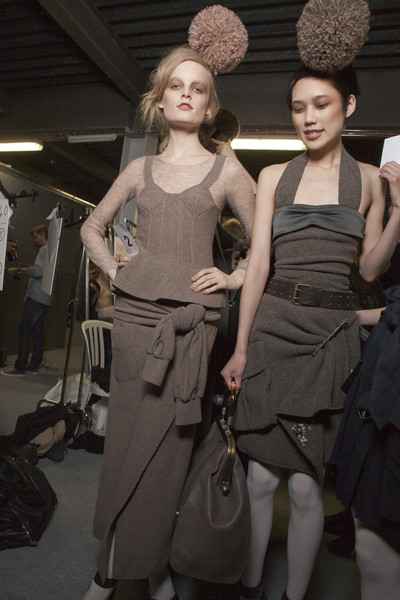 Sonia Rykiel Fall 2010 - Backstage