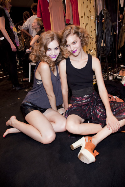Sonia Rykiel at Paris Spring 2011 (Backstage)