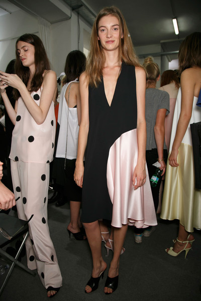 Sportmax at Milan Spring 2014 (Backstage)