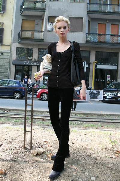 Milan Fashion Week Spring 2012 Models