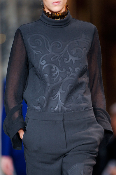 Stella McCartney Fall 2012 - Details