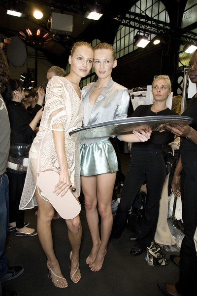 Stella McCartney Spring 2009 - Backstage
