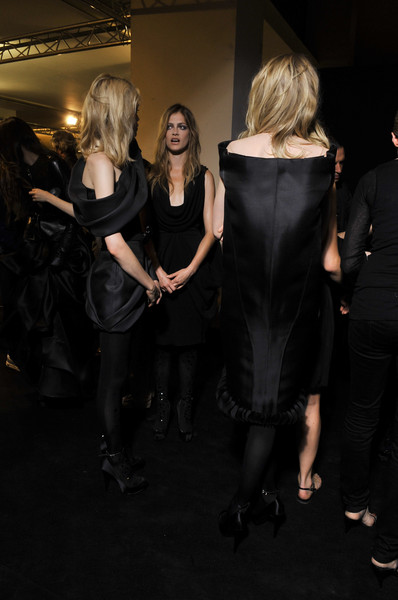 Stéphane Rolland Fall 2010 - Backstage