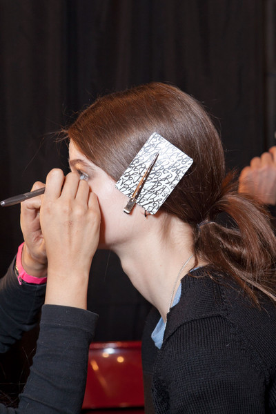 Tess Giberson Fall 2012 - Backstage