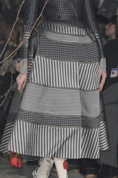 Thom Browne at New York Fall 2013 (Details)