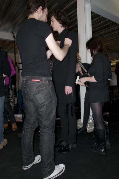 Todd Lynn Fall 2009 - Backstage