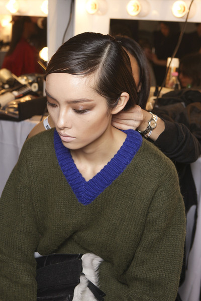 Tom Ford Fall 2013 - Backstage