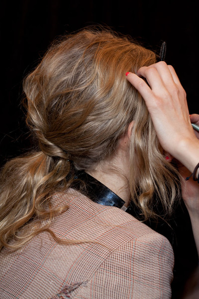 Tracy Reese Fall 2012 - Backstage