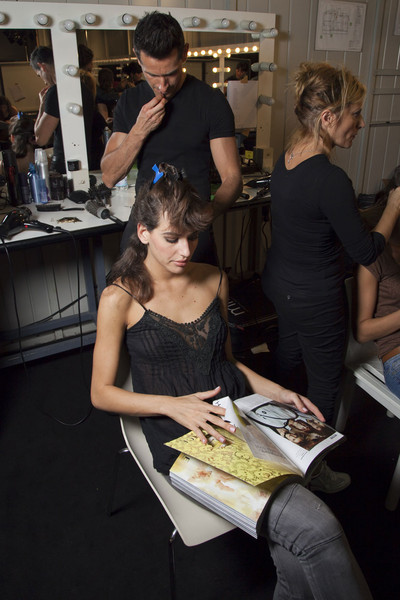 Triumph Spring 2012 - Backstage