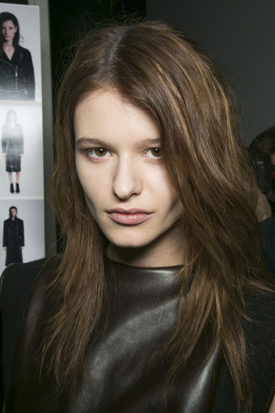 Trussardi 1911 at Milan Fall 2013 (Backstage)