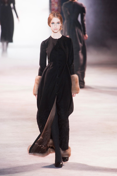 Ulyana sergeenko haute couture fall 2013 the most for American haute couture designers