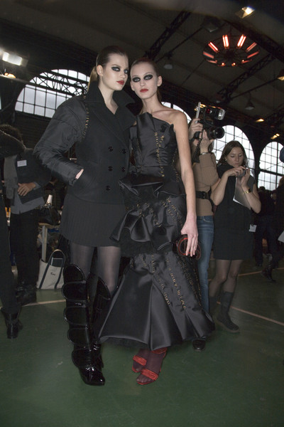 Viktor & Rolf at Paris Fall 2008 (Backstage)