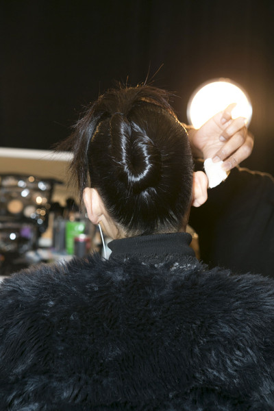 Vivienne Tam Fall 2013 - Backstage